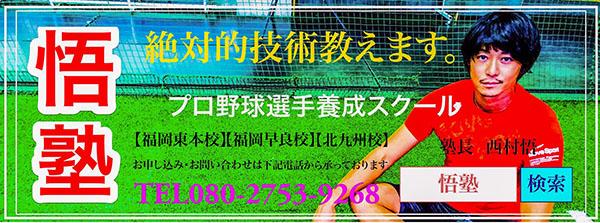 プロ野球選手養成スクール 悟塾